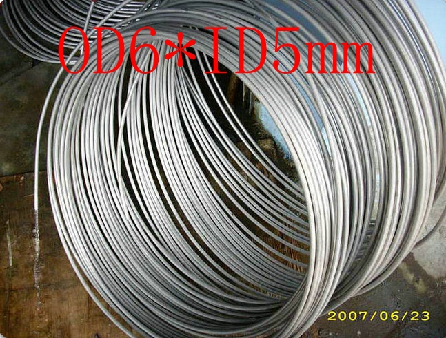 OD6mm*ID5mm,Stainless steel gas line pipe,stainless steel tube,stainless steel coil pipe(China (Mainland))