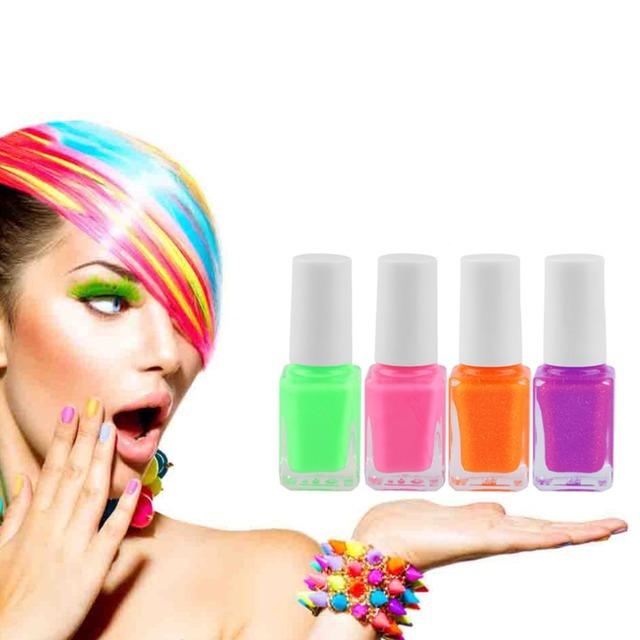 Новые конфеты цвет светящиеся в темноте люминесцентные лак световой DIY ногтей гель-лак ...