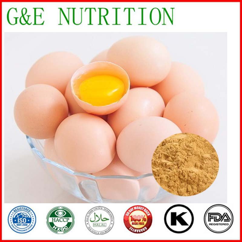 Organic egg protein extract with free shipping, 200g/bag(China (Mainland))