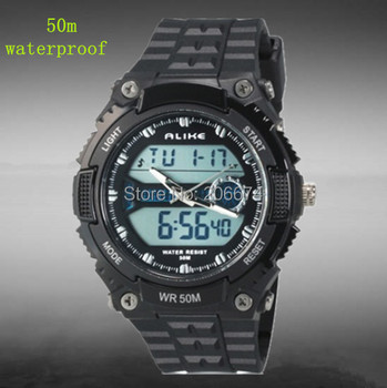 Hot Arrival Alike 50m waterproof men sports watches brand casual wristwatches man masculino men's digital watch Wristwatches