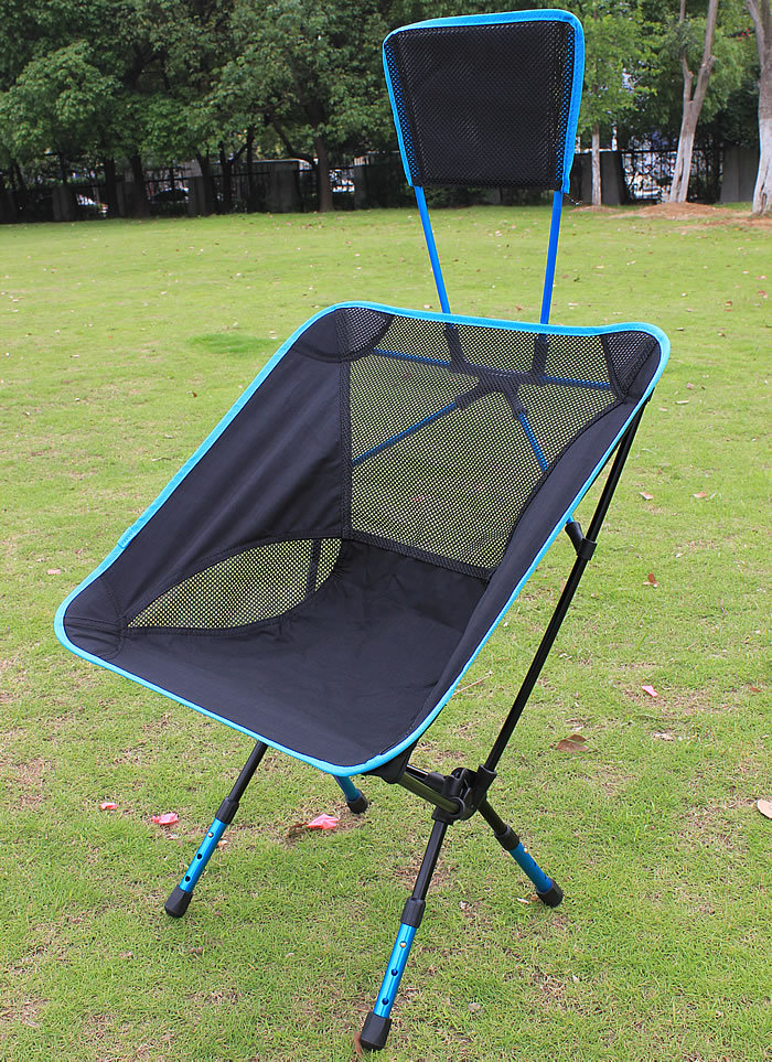 New Portable Outdoor Folding Chair Bungee Chair For Fishing Beach Back Yard P