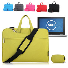 For Dell Inspiron 11 3000 Series i3148/7 11.6'' Laptop Shoulder Bag Sleeve Carrying Case Briefcase w/ Handle & Accessories Pouch(China (Mainland))