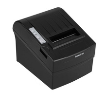300 mm/s Print Speed Black 80mm POS Thermal Receipt Printer Auto Cutter Cut Windows2000/XP/VISTA/8/10/Linux USB/Ethernet(China (Mainland))