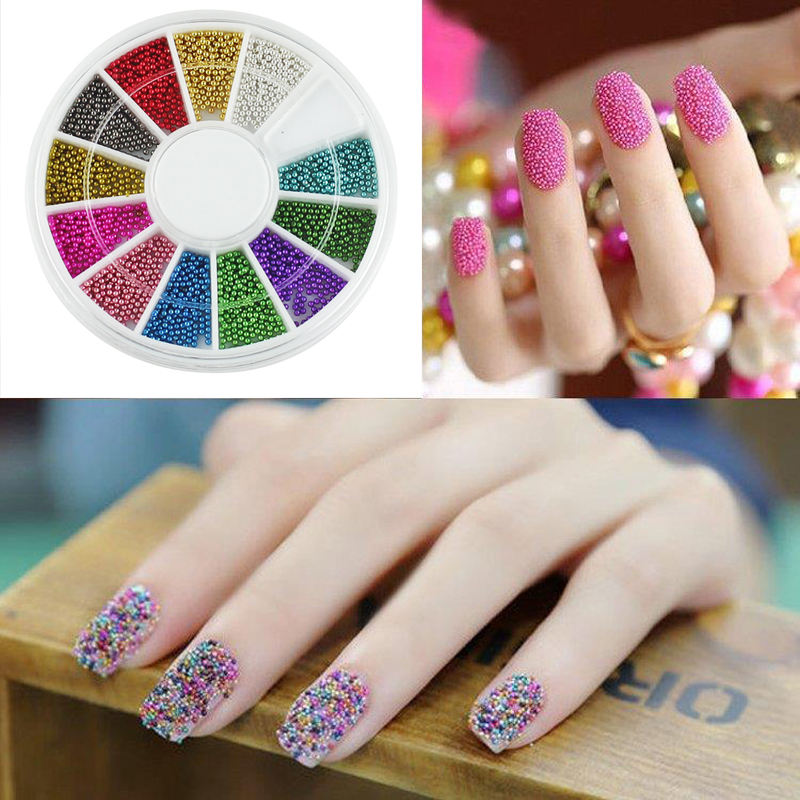 Decorations For Nails Nail Art 3d Decorations Caviar Beads Studs ...