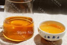 Aged Shen Puer tea Raw Pu er cake Chinese BuLang Sheng cha Pu erh with good