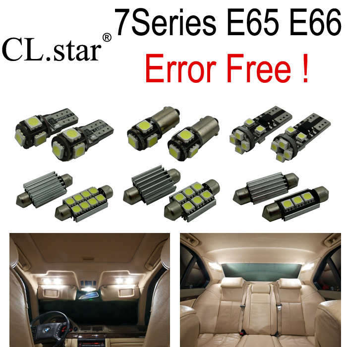 17pc X Error free LED Interior Light Kit  for bmw 7 series E65 E66 745Li 750Li 760Li 745i 750i (2002-2008)<br><br>Aliexpress