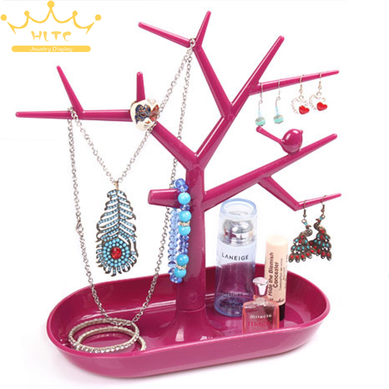 Wholesale Multifunctional Tree Branch Shape Jewelry Display Earring Bracelet Necklace Ring Display stand for earrings