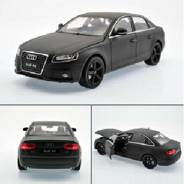 New 1:24 AUDI A4 Alloy Diecast Car Model Toy Collection With Box Black B1560(China (Mainland))