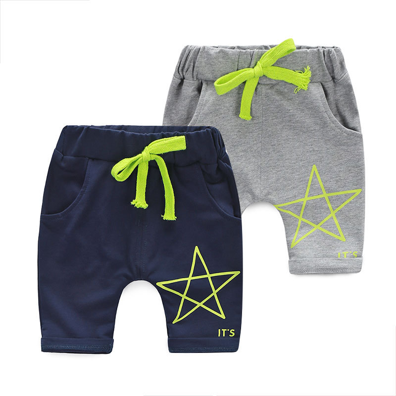 2015 summer new Boys 1-2-3-4-5 years old infants and young children's casual pants, sports pants KZ0005(China (Mainland))