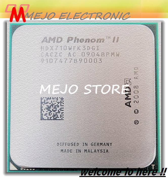 Best quality For AMD Phenom II X3 710 2.6GHz Socket AM3 938-pin Processor 95W Triple-Core 1.5M Desktop CPU Free shipping(China (Mainland))