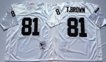 Stitiched,Oakland Raiders T.Brown stabler Jim Plunkett Throwback for men camouflage(China (Mainland))