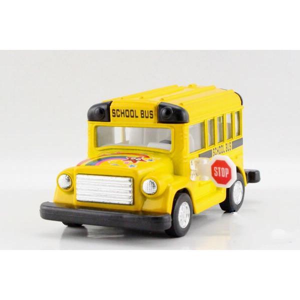 Children Kids Kinsmart Cute School Bus Model Car KT4004 4inch Diecast Metal Alloy Cars Toy Pull Back Gift(China (Mainland))