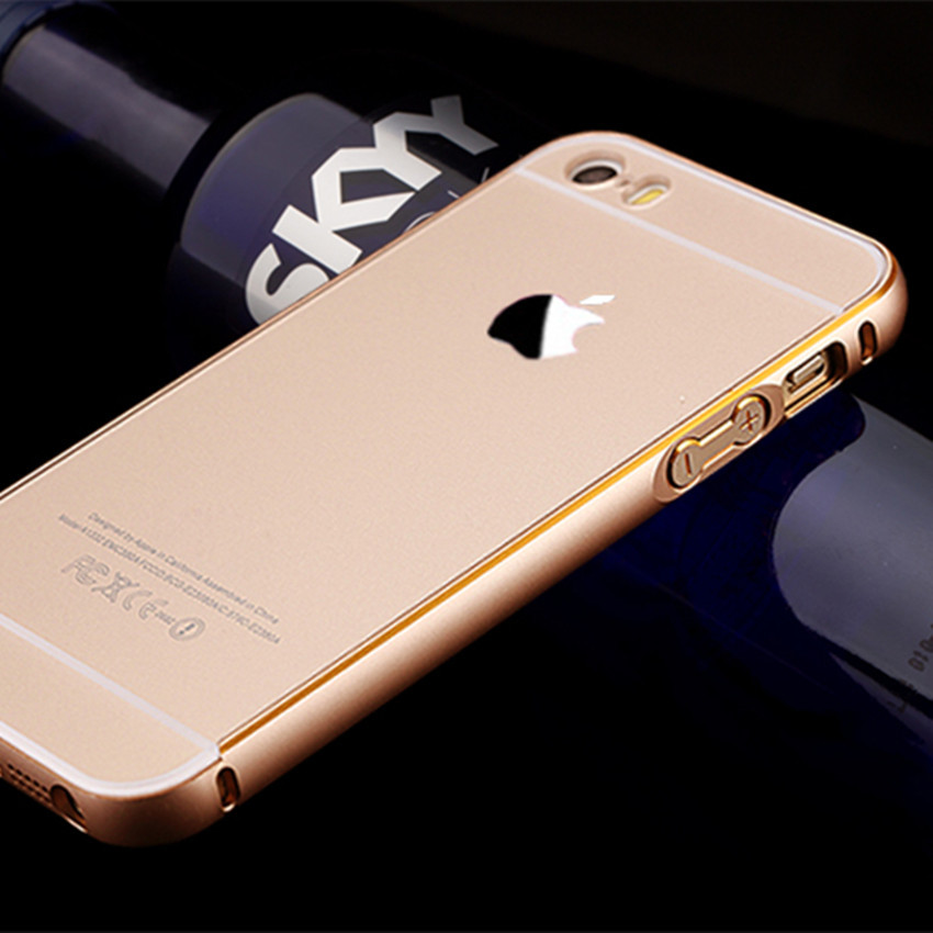 Luxury Metal Hard Back Cases For iPhone 5C,Ultra Thin Original Protective Guard Aluminum Phones Covers Fundas For iPhone 5c Case(China (Mainland))