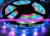 10m 150LED IP67 tube waterproof dream color 6803 IC 12V SMD 5050 RGB Led Strip Christmas light + RF Controller + 12V 6A Power