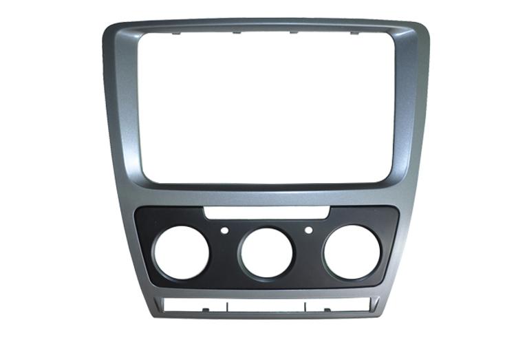 Car Refitting DVD frame,DVD panel,Dash Kit,Fascia,Audio frame Skoda Octavia 2013, 2DIN HK POST - HongKong Summit Trades & Technology Co., Ltd store