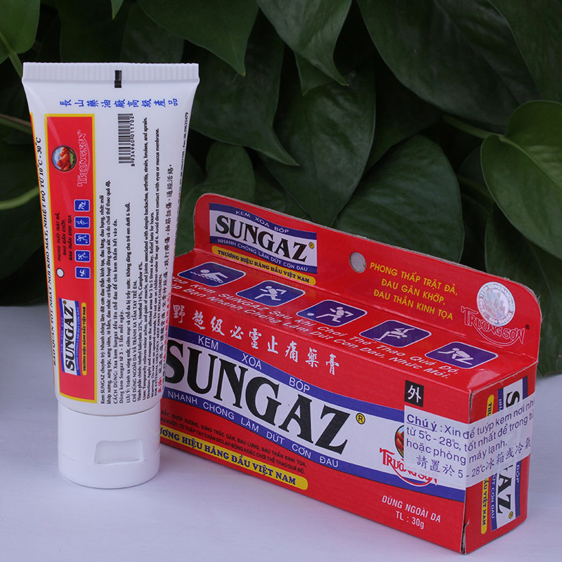 Vietnam Sungaz Rapid Pain Relief Yamano Relieve Pain Balm 30 G Analgesic Cream Rheumatoid Arthritis Bone Spurs Frozen Shoulder(China (Mainland))