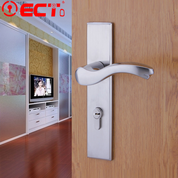 Фотография T 304 stainless steel interior door room villa bedroom bathroom handle simple antique locks