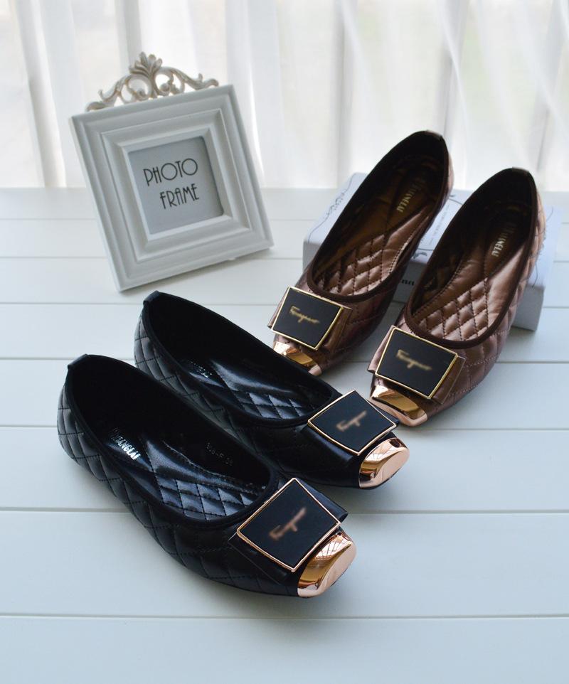 Korean fashion summer flat shoes new British documentary girl 308-F