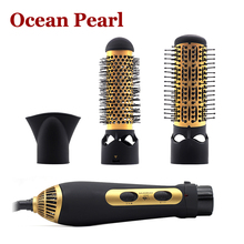 1033- 3in1 220v-240v 1200W power Multifunctional styling tools hair sticks kinkiness hair dryer machine comb hairdressing tool(China (Mainland))