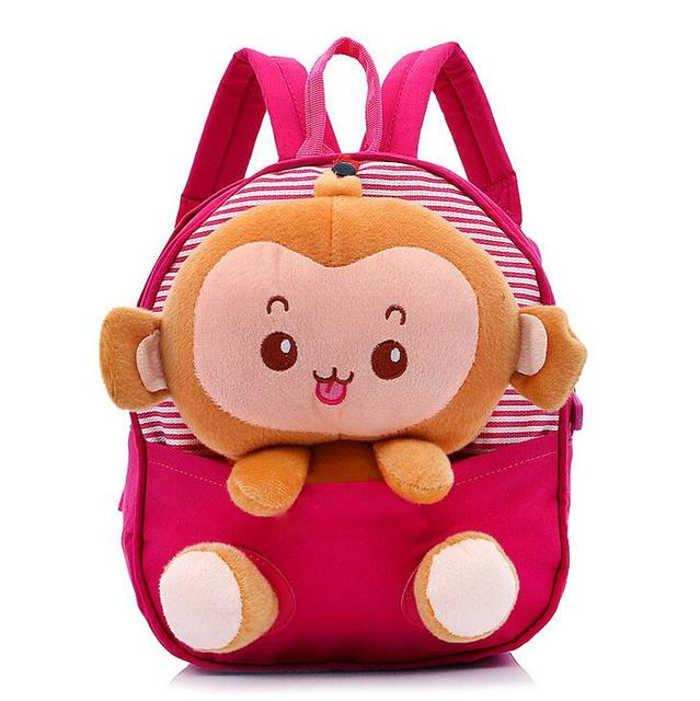 Aliexpress.com : Buy cute little monkey cartoon children backpack ...