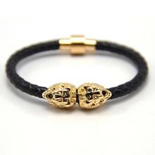 Silver/gold/black Rope Anchor Bracelet Men and women,Wrap Bracelets Wholesale Bangle 51 colors hot selling
