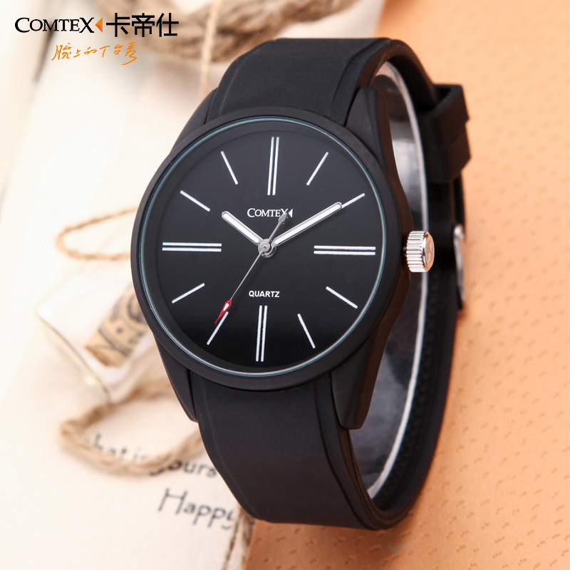 COMTEX waterproof quality mens sports watch ultra-thin mens watch personality students watch fashion big dial lovers<br><br>Aliexpress