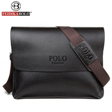 free shipping new 2017 hot sale men bags, men leather messenger bags, high quality polo bag fashion men's travel bags(China (Mainland))