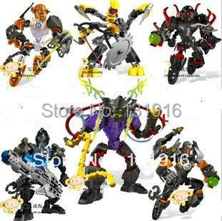 Decool DIY building block sets 2013 new super hero factory 4.0 star soldier war NEX XT4 STRINGER BULK robot bricks blocks toys - Online Store 131916 store