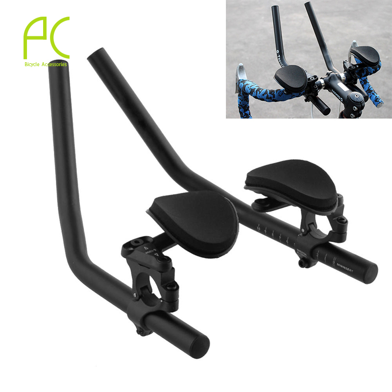 PCycling Road Mountain Bike Cycling Race Bicycle MTB Aluminum Alloy Triathlon Aero TT Handlebar Rest Handlebar Separated Pipe(China (Mainland))