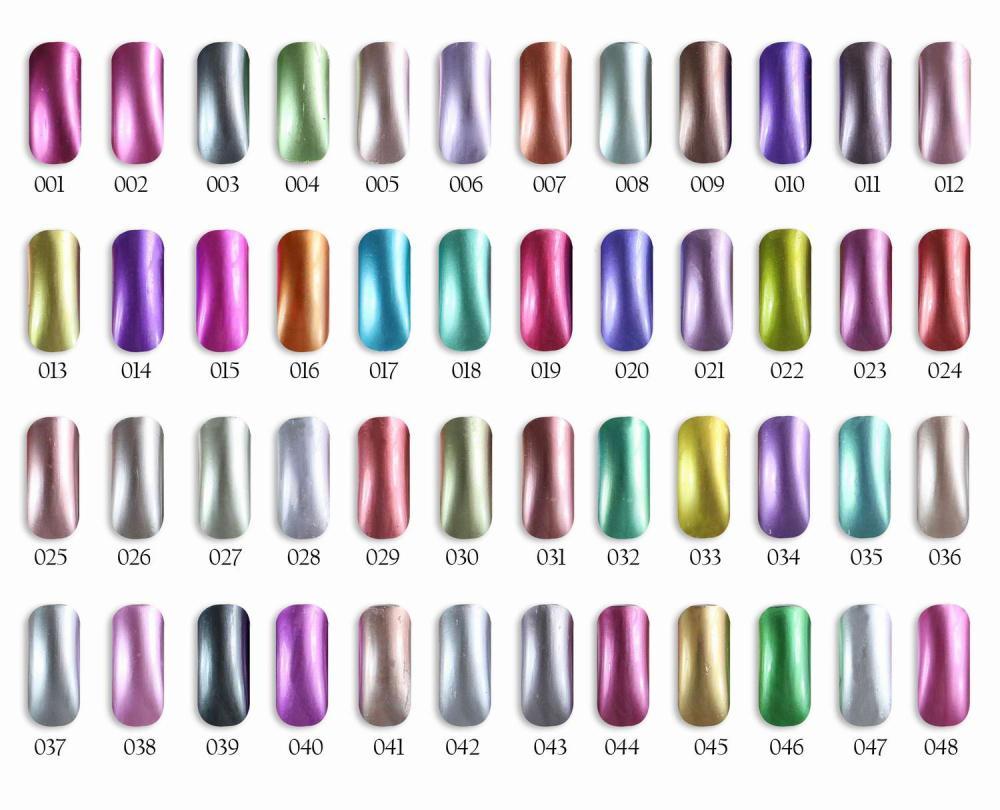 6pcs Florales  Metallic UV Gel Nail polish 15ml 48 colors for choice Feifan<br><br>Aliexpress