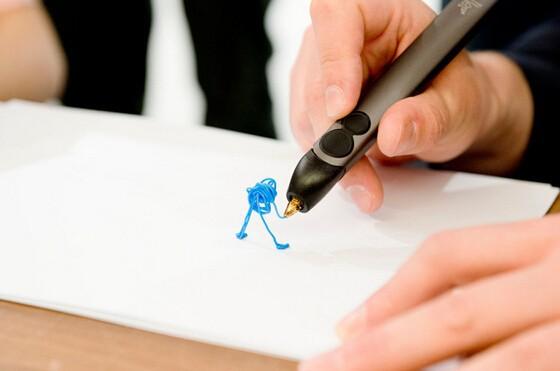 Kicstar 3Doodler2.0 3d pen consumables 3doodler 3d doodle drawing pen child 3d three-dimensional puzzle pen