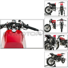 CAFE RACER TRACKER SCRAMBLER BOBBER BOXER TWIN vintage motorcycle Aluminum CNC rear view mirror fit inside diameters 13mm 17mm(China (Mainland))