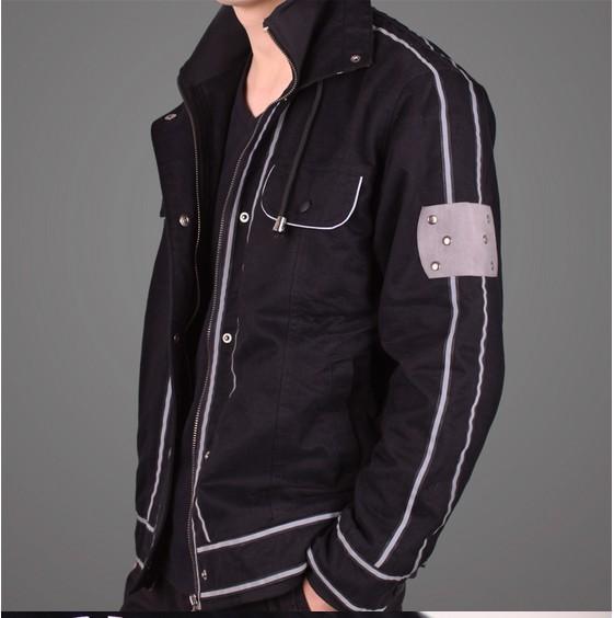 Sword Art Online ALfheim Kirito cosplay costume hoodie jacket coat - Customized store