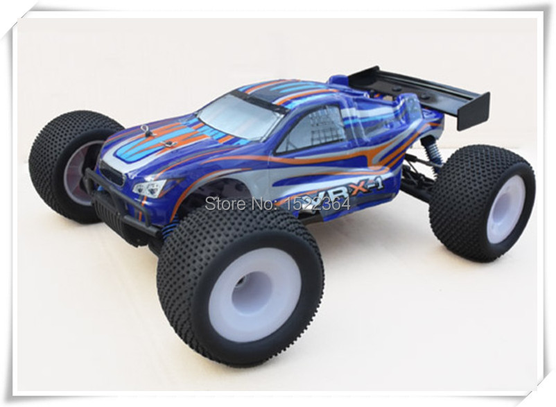 Cruise ERC801P Fast Speed 1/8 Scale Model 4WD Nitro Gas RC Car 2.4G Remote Controller Ready To Run Truggy For Boys/Adult Toy(China (Mainland))