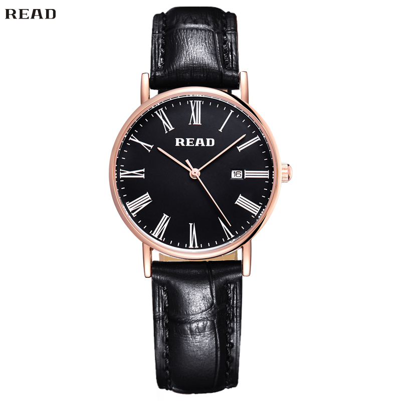 READ Watches Women Hight Quality Refinement Elegant Business Quartz Watch Leather Strap Clock Water Resistant Watches RA2021-228(China (Mainland))