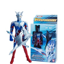 New Japanese Anime Ultraman Dyna Action Figure Transformation 13 Joints Movable Ultraman Model Kids Toys with Weapon W033