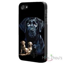 DOG LABRADOR puppy Protector back skins mobile cellphone cases for iphone 4/4s 5/5s 5c SE 6/6s plus ipod touch 4/5/6