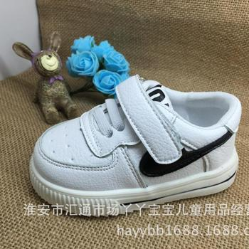 Free shipping 2016 new arrival babys shoes baby girls boys leather shoes Lace-up Pu spring/autumn soft sole toddler shoes30