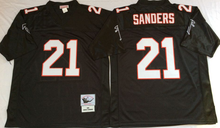 100% Stitiched,Atlanta Falcons,Deion Sanders,brett favre,Vick,Throwback for men camouflage(China (Mainland))