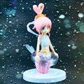 Free shipping Japana anime 1pcs one piece Mermaid Princess pvc figure toys tall 16cm
