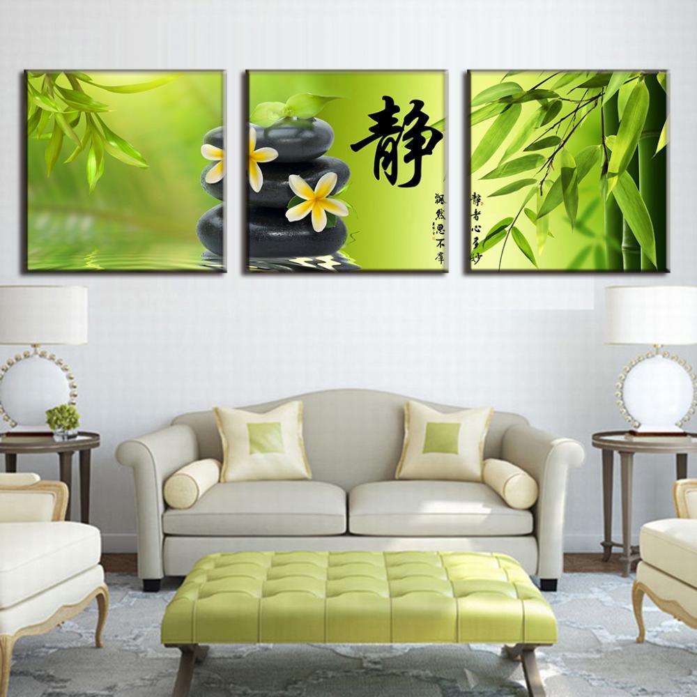 Compra de bamb pintura online al por mayor de china for Pintura pared verde