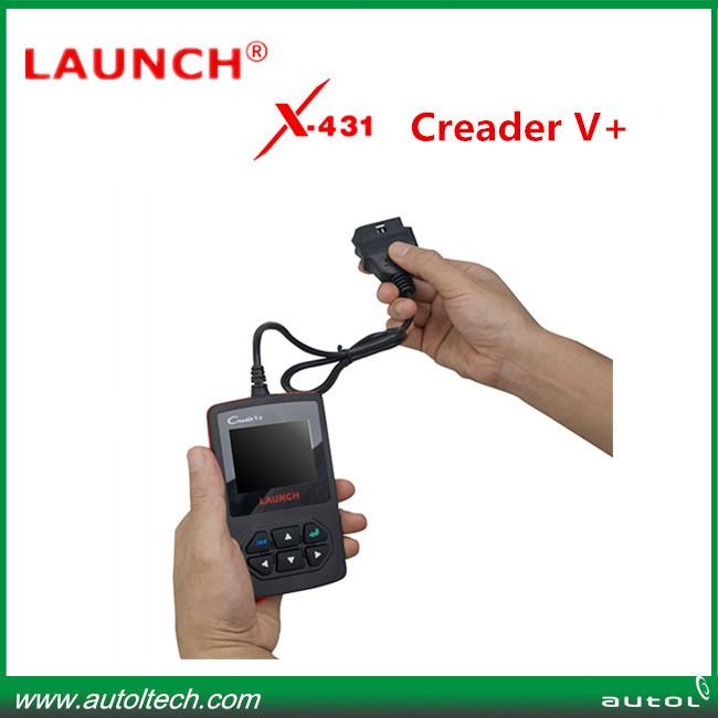 original Launch Creader 5+ obd2 Coder Sanner Creader V+ update online(China (Mainland))
