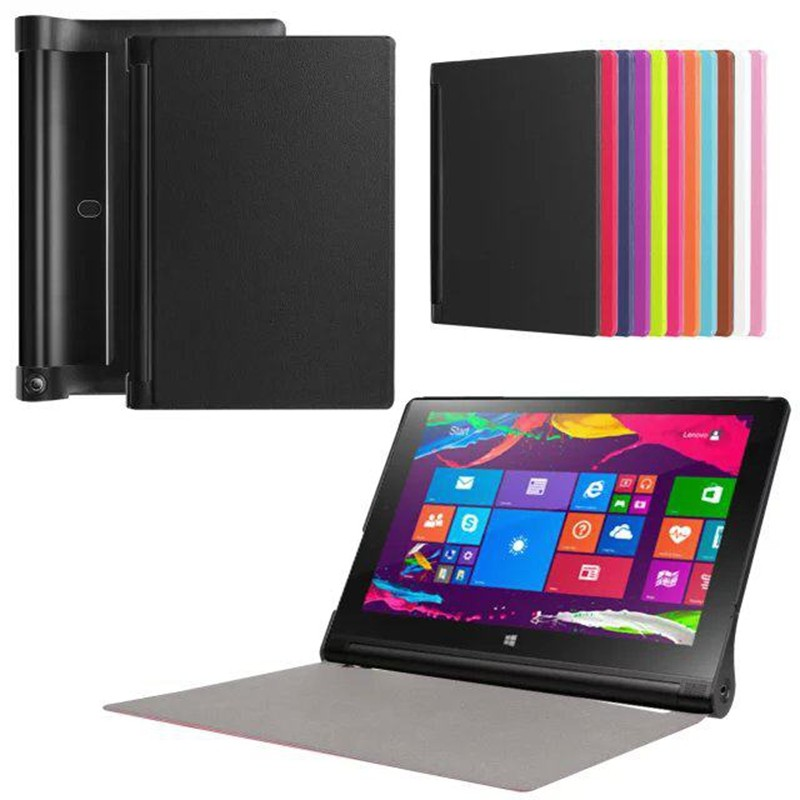 100pcs Ultra Slim Cover for Lenovo Yoga Tab 3 850F YT3-850F 8 inch Tablet Case + Screen Protector Film tracking number<br><br>Aliexpress