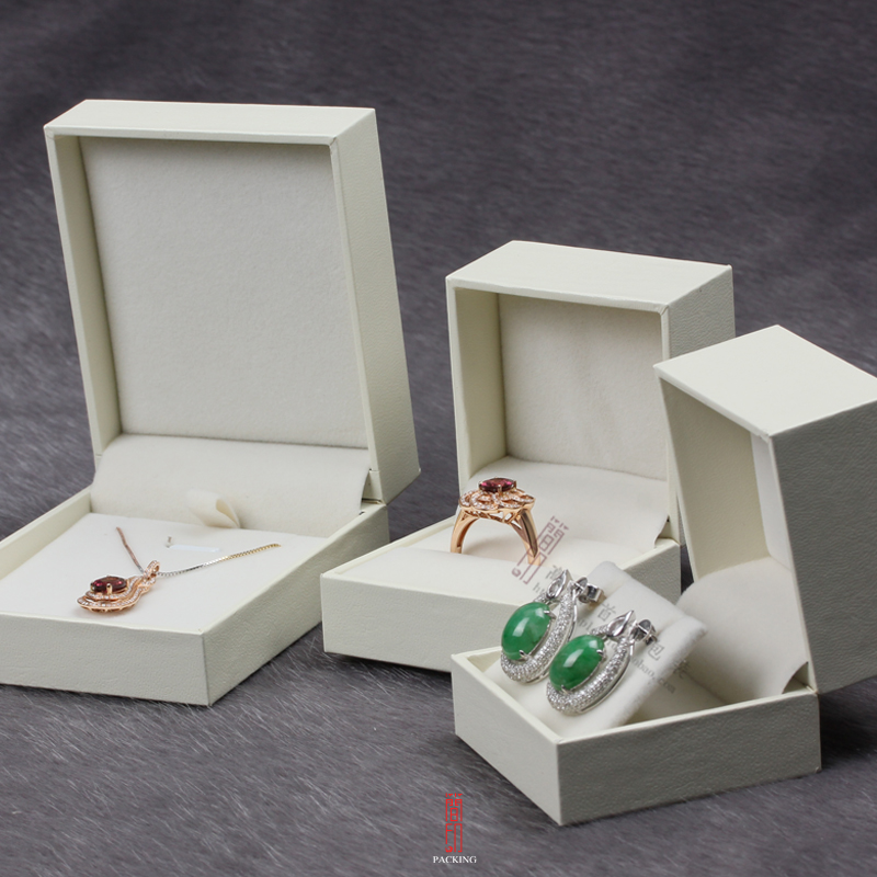 The new high-end gift box wholesale bow jewelry box, ring box, earring / pendant box manufacturers special, can accept custom(China (Mainland))