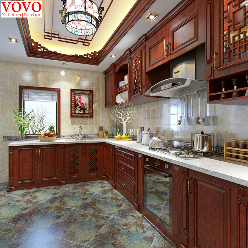Online Buy Wholesale Rosewood Kitchen Cabinets From China