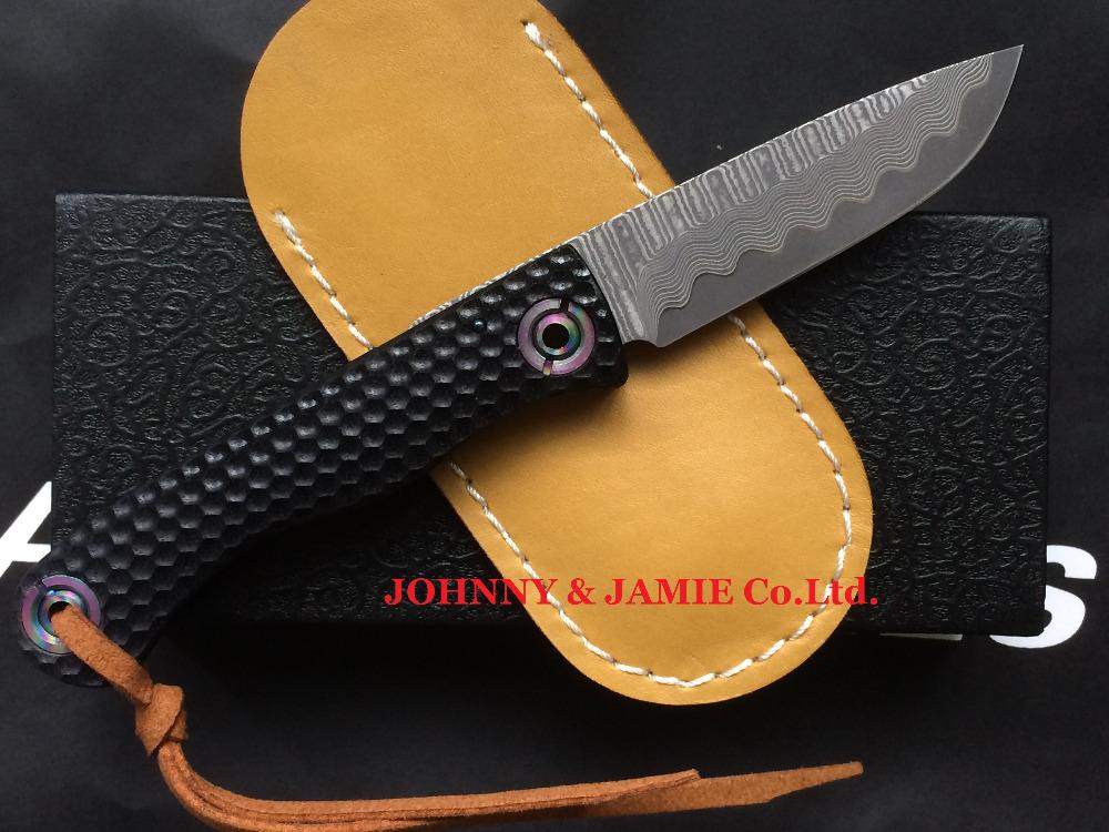 Damascus knives Tactical folding knife Japanese VG10 G10 Handle Hunting Camping Survival pocket knives edc multi tools(China (Mainland))