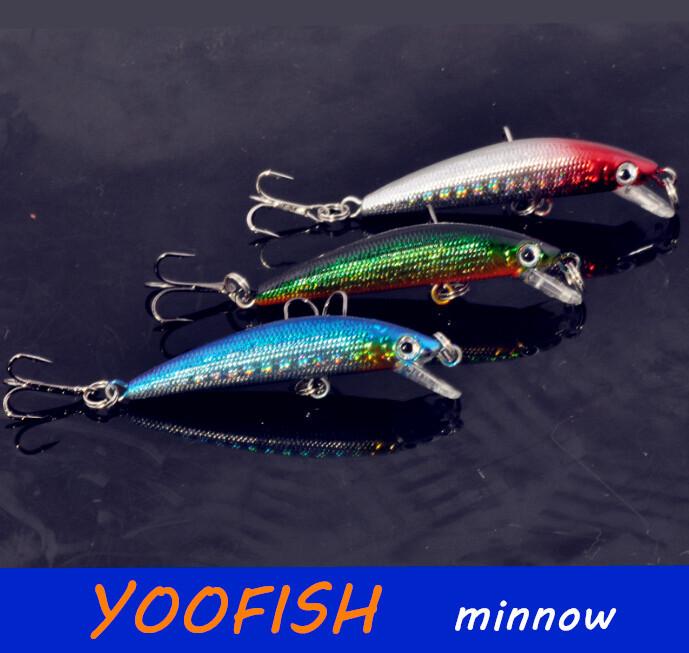 Приманка для рыбалки YOOFISH 6pcs 4g 6 rubbler