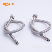 Buy 1 Pair Bathroom Flexible Cold/Hot Mixer Faucet Stainless Steel Copper Water Supply Pipe Hoses Water Hose Connector 4 Length for $9.40 in AliExpress store