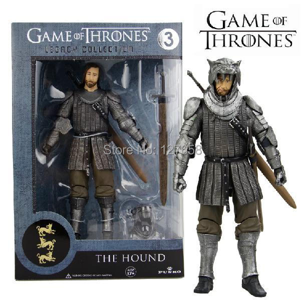 NEW 2014 FUNKO POP 7 inch Game of Thrones Song of Ice and Fire the hound Action figure new box for Car Decoration(China (Mainland))