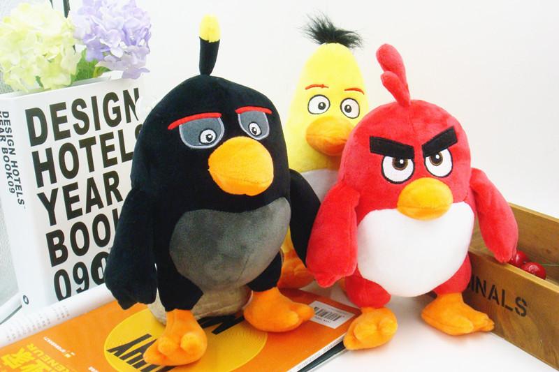 20cm plush toy doll Birds II movies cartoon doll car ornaments wedding gifts small house pets(China (Mainland))